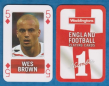England Wes Brown Manchester United 5D
